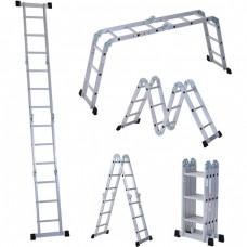 Multifunctional aluminum ladder 3.7 meters
