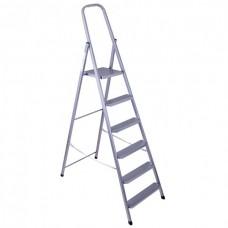Metal stepladder 6 steps