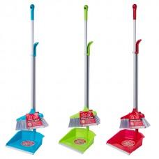 Broom with scoop plastic Liao