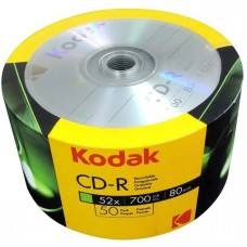 CD-R Kodak, 80 min, 52x700mb
