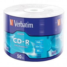 CD-R Verbatim Extra protection, 80 min., 52x700mb