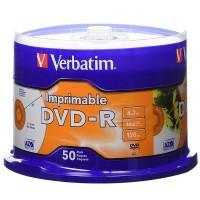 DVD-R Verbatim Printable, 4.7gb, 120 min, 16x