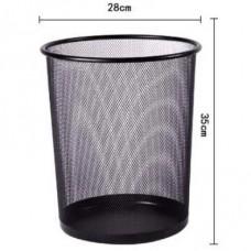 Office metal dustbin large
