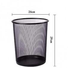 Office metal dustbin medium