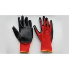 Gloves rubberized