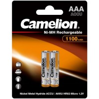 Rechargeble battery Camelion NI-MH 1100 mAh, AAA, 2 pcs.