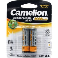 Rechargeble battery Camelion ACCU 2000 mAh, AA, 2 pcs.