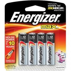 Battery Energizer Max AA, 1.5v, 4 pcs