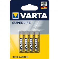 Battery Vatra Superlife AA, 1.5v, 4 pcs