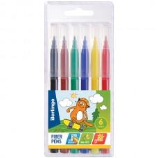 Felt-tip pen Berlingo 6 colors