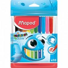 Felt-tip pen Maped 10 colors