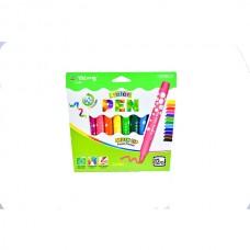Felt-tip pen Yalong YL875086 12 colors