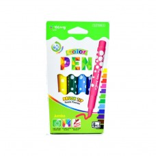 Felt-tip pen Yalong YL086 6 colors