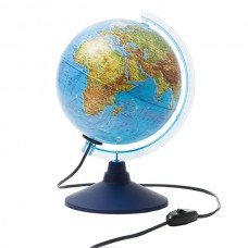 Physical globe 21 cm with backlight