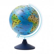 Zoological globe 25 cm