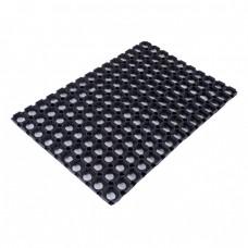 Rubber door mat 40x60cm.