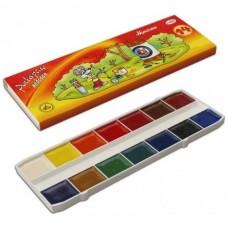 Watercolor paints Gamma 14 colors