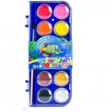 Watercolor paints Yalong 12 colors