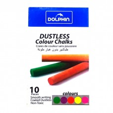 Colored chalk Dolphin 10 pcs.