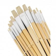 Paint brush 12 pcs. acrylic