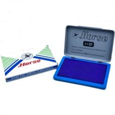 Stamp pad Hourse N2, 11*7cm, blue