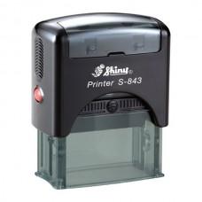 Stamp printer Shiny S-843
