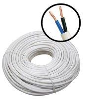 Electric wire 2 * 2.5 copper, double insulation
