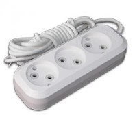 Extension cord with 3 sockets 10 meters Makel