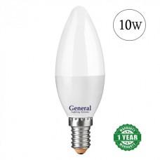 Lamp LED candle 10W E14 General