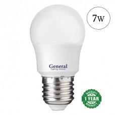Lamp LED bulb 7W E27 General