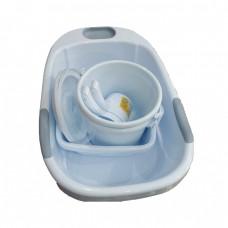 Baby bath 80x48cm 4 items