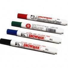 Whiteboard marker Snowman