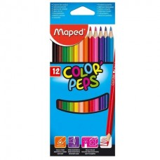 Colored pencils Maped, 12 colors