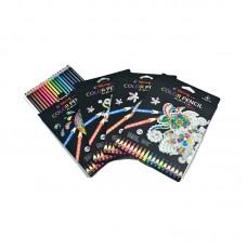 Colored pencils Yalong, 18 colors