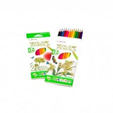 Colored pencils Yalong, 12 colors