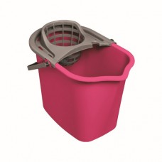 Bucket with strainer