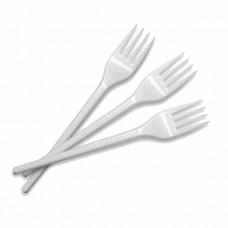 Disposable plastic forks