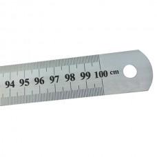 Metal ruler 100sm