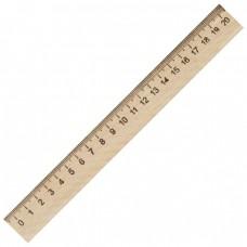 Wood ruler 20sm