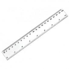 Plastic ruler 20sm