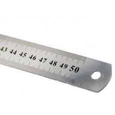 Metal ruler 50sm