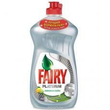 Dishwashing liquid Fairy Platinum 430 ml.