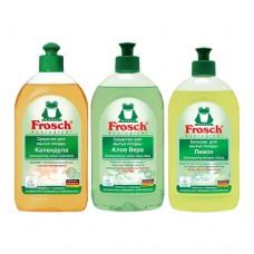 Dishwashing liquid Frosch 500ml.