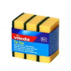 Dishwashing sponge Vileda x3