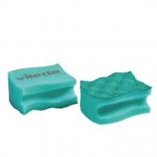 Dishwashing sponge Vileda green