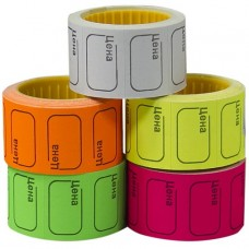 Price tag colored 53mmX35mm