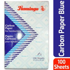 Carbon paper Flamingo, blue,  100 sheets