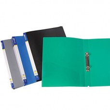 Ring binder A4, 2 rings, plastic