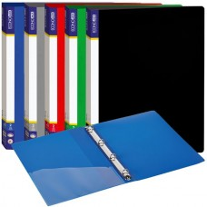 Ring binder A4, 4 rings, plastic