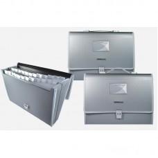 Briefcase folder, A4, 13 pockets